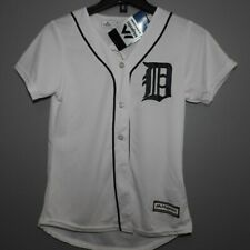 MLB Authentic Detroit Tigers Home Baseball Jersey New Womens LARGE
