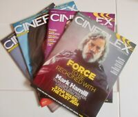 Cineplex Magazine -  4 Separate Issues...good reduced price & shipping