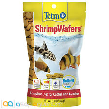 Tetra Shrimp Wafers 3oz (86g) Fish Food Daily Diet Sinking Wafer Color Enhancing