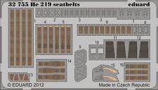 Eduard 1/32 Heinkel He219 Seatbelts # 32755