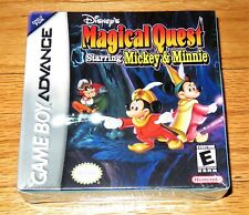 Disney's Magical Quest Starring Mickey & Minnie (Nintendo Game Boy Advance) NEW