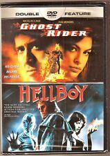 2-Movie Ghost Rider & Hellboy DVD Double Feature BRAND NEW