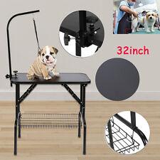 Hundepflege Trimmtisch Hunde/Katze Schertisch Pflegetisch mit Korb Schlinge ST
