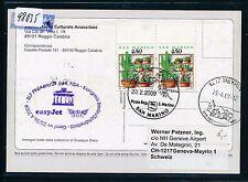 98035) Easy Jet FISA pour LP Berlin-Genève Suisse 23.4.2009, KTE à partir de San Marino