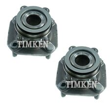 Pair Set of 2 Front Timken Wheel Bearing and Hub Kit for Nissan Sentra 07-12 FWD