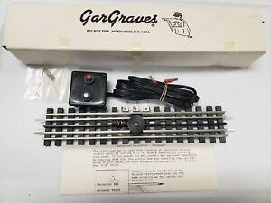 Gargraves No. 108 Uncoupler and UnLoader Track (NOS)