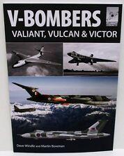 Pen & Sword Books - Flightcraft 7 - V-Bombers Valiant, Vulcan & Victor    Book