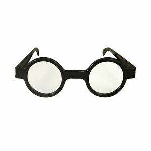 Kids Round Glasses Harry Potter Style Black Geek  Nerd Wizard Lot