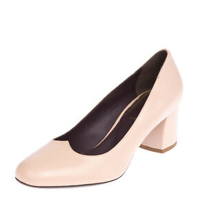 RRP €365 MAGLI BY BRUNO MAGLI Leather Court Shoes EU 37 UK 4 US 7 Made in Italy