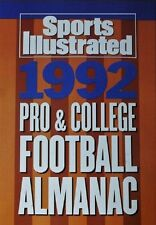 Sports Illustrated 1992 Pro & College Football Almanac - Softcover 1992