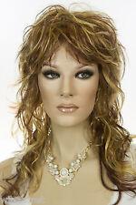 Light Pale Blonde /Auburn / Brown H-Lght Brunette Long Straight Wigs