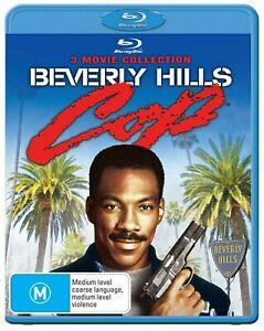 BEVERLY HILLS COP 1 2 3 New Blu-Ray Trilogy (3 Disc) EDDIE MURPHY ***