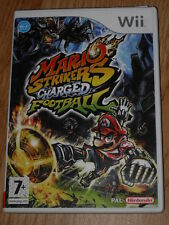 Jeu vidéo Nintendo WII Mario Strikers Charged Football