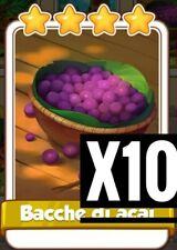 10 x Acai Berry (Fast Delivery) Amazonas Set :- Coin Master