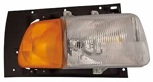 1998-2010 STERLING L8500 L9500 HEADLIGHT LAMP W/PARK SIGNAL LAMP - RIGHT