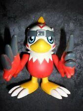 DIGIMON FIGURINE PARLANTE HAWKMON RARE 13 CM BANDAI 2000 OCCASION FONCTIONNE !