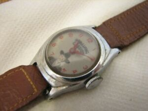 Vintage Hopalong Cassidy Character Watch Children's Cowboy Hoppy US Time