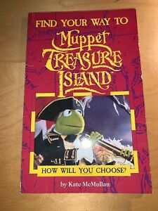 Find your way to Muppet Treasure Island  - choose your adventure! (1996)