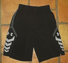 UNDER ARMOUR FITTED BLACK BASKETBALL SHORTS MEN'S SIZE  MEDIUM M
