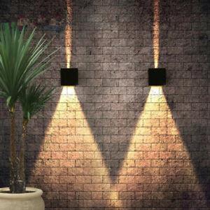LED Wandlampe Außen Wandleuchte Wasserdicht Treppen Eingangsflur Modern 7W/12W