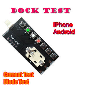 DOCK TEST  for iPhone And Android Phones Diagnose Tool Tristar ((BEST PRICE))