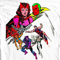 WEST COAST AVENGERS II T shirt retro Comics Vision 100% cotton graphic tee