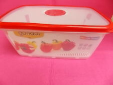 VACUUM LID-FOOD CONTAINER-MICRO VALVE SAVER-AIR TIGHT-KEEPS FOOD FRESH-5L-LARGE