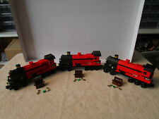 "Lego Harry Potter (3) HOGWARTS EXPRESS TRAIN ""ENGINE CAR'S ONLY"" FROM SET 4708"