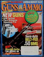 Magazine GUNS & AMMO Jan 1998 MARLIN Model 882SSV RIFLE, REMINGTON Model 11-96