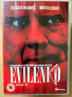 Evilenko DVD 2004 True Life Rusia Serial Killer Película con Malcolm Mcdowell
