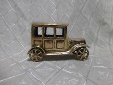 LOVELY VINTAGE BRASS OLD  CAR MODEL 1920's DESIGN