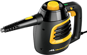 McCulloch MC1230 Handheld Steam Cleaner with Extension Hose, 11-Piece Accessory