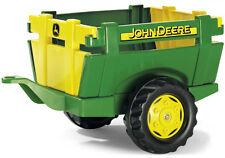 Rolly Toys RollyTrailer John Deere Anhänger Farm (Grün)