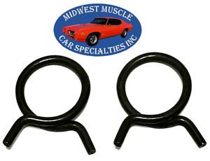 "Chrysler 15/16"" O.D. Corbin Style Spring Wire Heater Radiator Hose Clamps 2pc KV"
