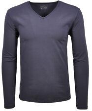 RAGMAN Herren Langarm Shirt mit V-Ausschnitt, Modern Fit NEU