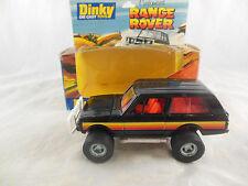Dinky toys 203 Customised Range Rover in Black Vintage