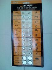 LOT 24 PILE BOUTON LITHIUM AG1 AG3 AG4 AG5 AG10 AG12 AG13 CR2016 CR2032