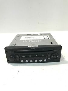 CITROEN C3 PICASSO CD PLAYER MP3 BLAUPUNKT 96659189XT GENUINE 2011