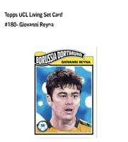 Topps 2020 UCL Living Set Card #180 Giovanni Reyna Rookie Card Dortmund BVB RC!!