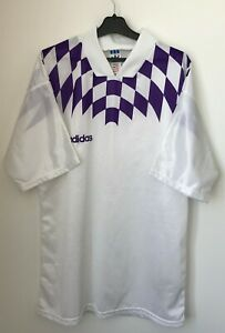 Adidas Vintage Template 90's Football Soccer Shirt Jersey trikot size L