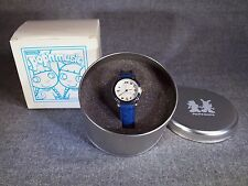Pop'n Music WATCH Color Blue Mimi & Nyami Rare Item KONAMI Game Made In JAPAN