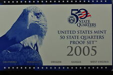 2005-S  US QUARTER PROOF SET (Orginal Mint Packaging) 5 GEM Proofs