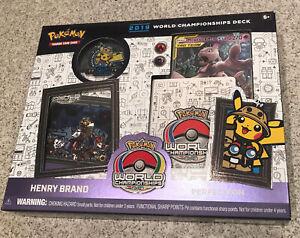 Pokemon TCG 2019 World Championships Henry Brand Starter Deck [Perfection]