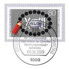 Berlin 1989: Rechnungskontrollbehörden Nr. 843 mit sauberem Ersttagsstempel! 1A