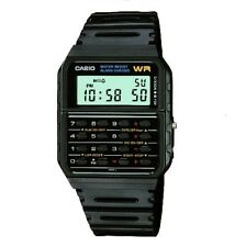 Casio Men's Digital Calculator Alarm Chronograph Data Bank Resin Watch CA-53W-1Z
