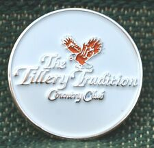 "RARE_Limited Edition_ The Tillery Tradition CC 1"" Ni-Silver Plated Ball Marker"