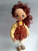 Artist OOAK doll, Black Friday SALE
