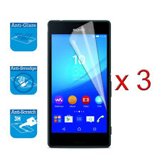 For Sony Xperia M4 Aqua Screen Protector Cover Guard LCD Film Foil x 3