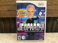 Jeopardy Video Game (Nintendo Wii, 2010) FREE SHIPPING & RETURNS *TESTED*  #2