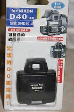 NIKON D40 DSLR CAMERA LCD HOOD AND SCREEN PROTECTOR BNIB